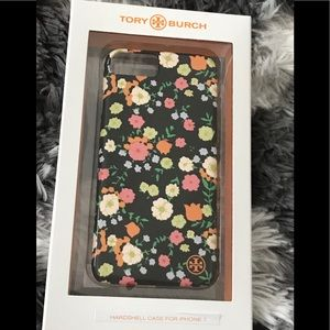 Tory Burch Spring Black Floral iPhone 7 Case